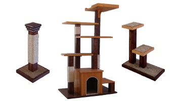 The Kemsa Collection line of cat furniture