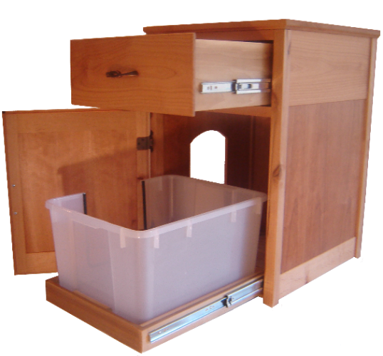 Toonsis Litter Box Cabinet